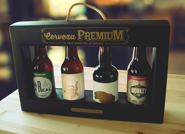 estuche regalo cervezas