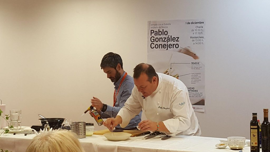 Pablo González Conejero en plena MasterClass