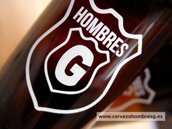 Estrenamos nueva botella personalizada Cerveza Hombres G