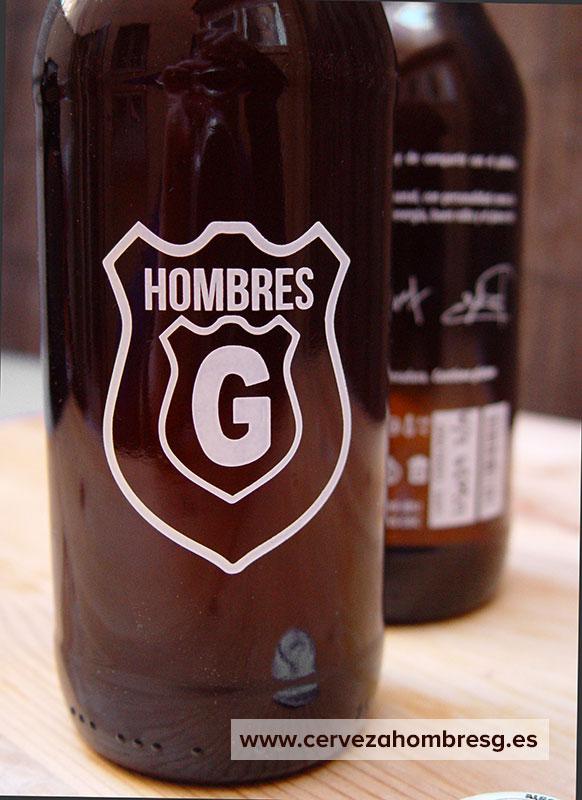 Nueva botella cerveza hombres g