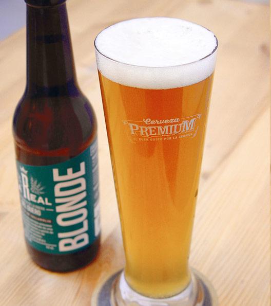 Cerveza Artesana La Real Blonde