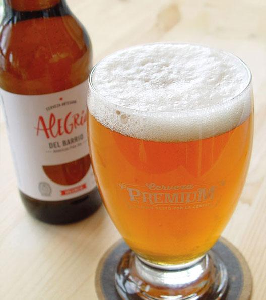 Cerveza Artesana Alegría Pale Ale