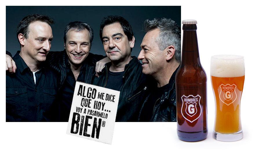 Cerveza artesana Hombres G
