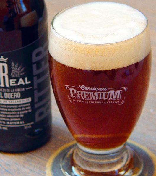Cerveza Artesana la real bitter