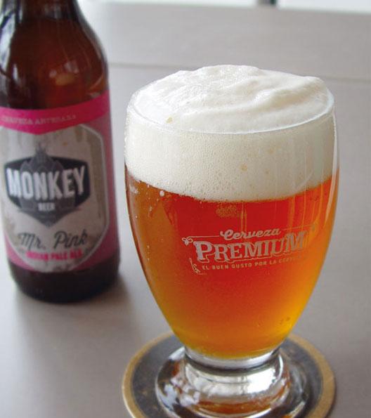 Cerveza Artesana Mr. Pink IPA