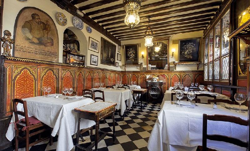 Interior Restaurante Botin
