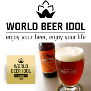 Vulturis Amber Sky WORLD beer idol 2019