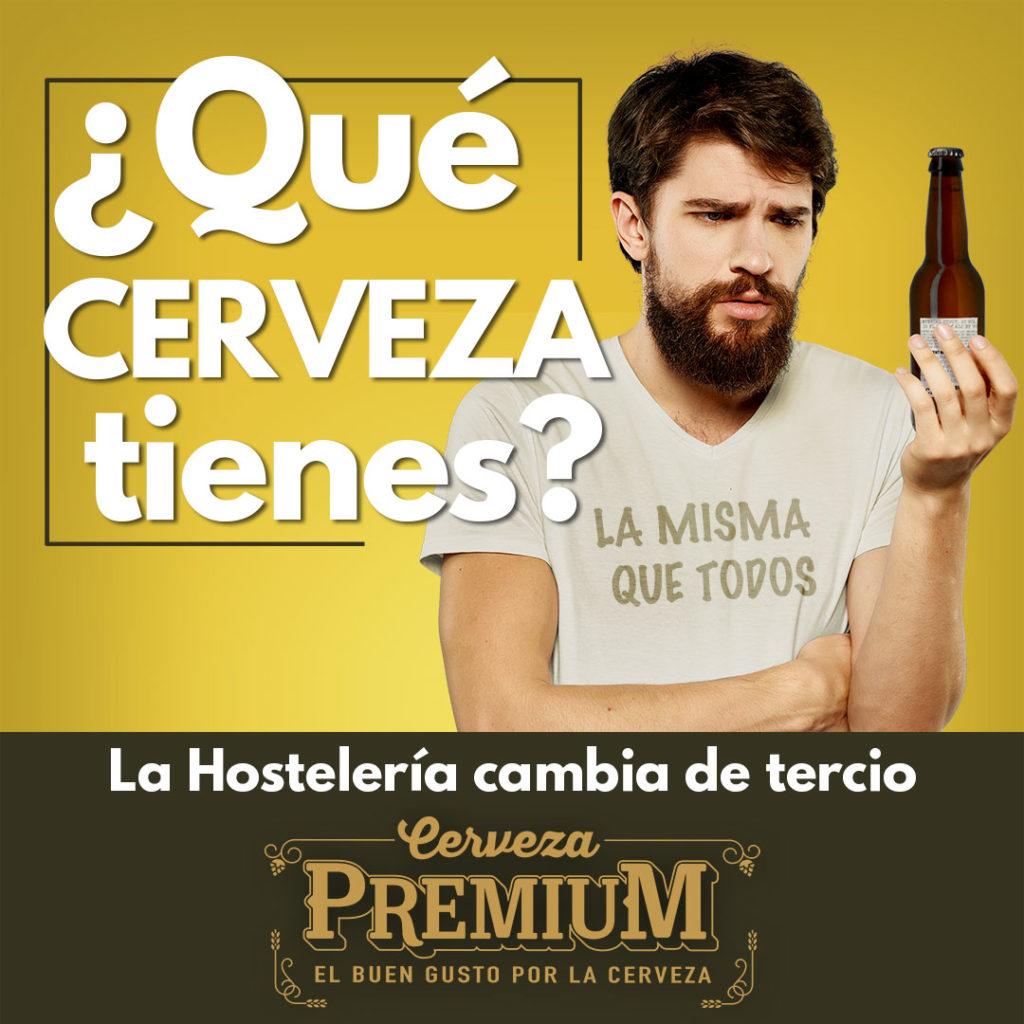 CERVEZA ARTESANAL HOSTELERIA