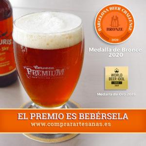vulturis amber sky barcelona beer challenge 2020