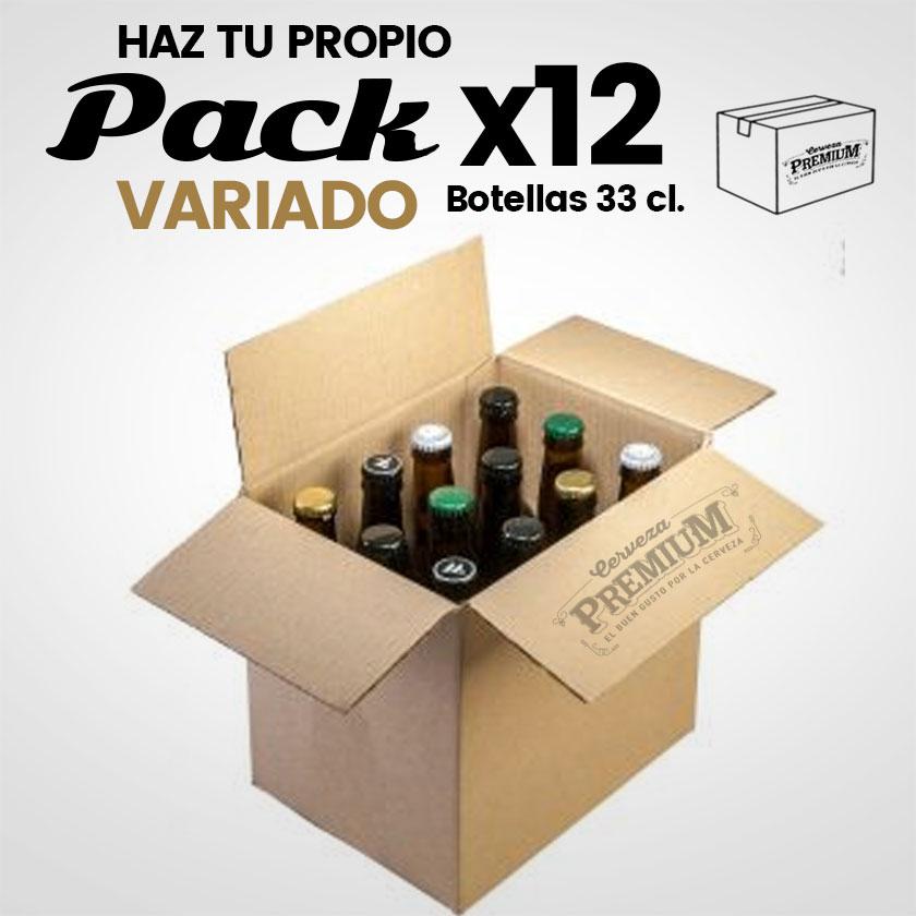 pack 12 ud. cervezas artesanas